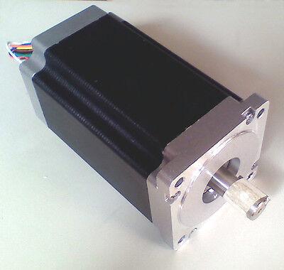 Cnc Control Machine High Quality Nema 34 Step Motor 12 N.m 58 Shaft Stepper