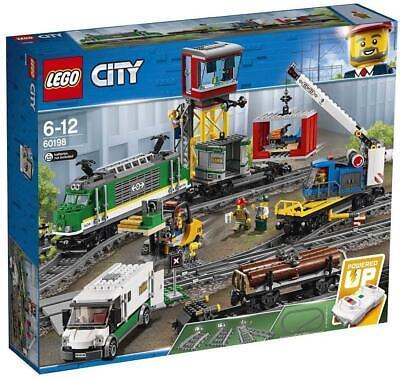 60198 LEGO CITY TRENO MERCI - 1227 PZ 6+ ANNI SIGILLATO ORIGINALE