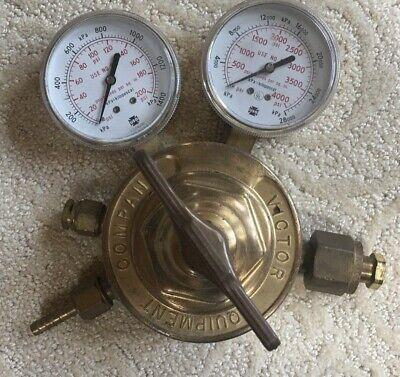 Victor Equipment Company Compressed Gas Regulator Sr-453-d