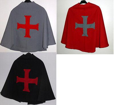 Ritterumhang - schwarzer Ritter Umhang Cape Kostüm Fasching Karneval - Schwarzes Cape Kostüm
