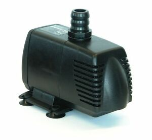 Hailea hx 8830 inline submersible 2900l pump water feature for Inline hydroponic pump