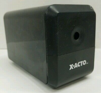 X-acto Electric Pencil Sharpener Desk Office School 18xxx Cn 120v Black