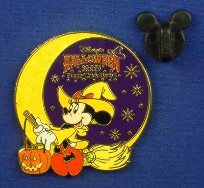 Minnie Mouse Witch Costume Halloween Happy Trick Party LE OC Disney Pin # 41441](Witch Minnie Mouse Costume)