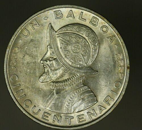 Panama Silver Balboa 1953  UNC    A827