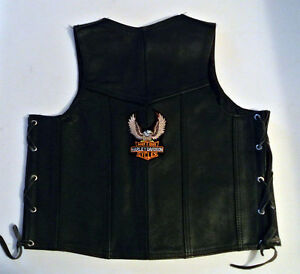 Child's/woman's leather Harley vest