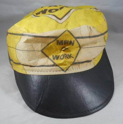 Vintage 1980s Men At Work Band Painter's Hat Cap Land Down Under Colin Hay