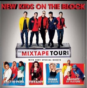 Floor seats FACE VALUE! NKOTB-Mixtape Tour Toronto June 19/19