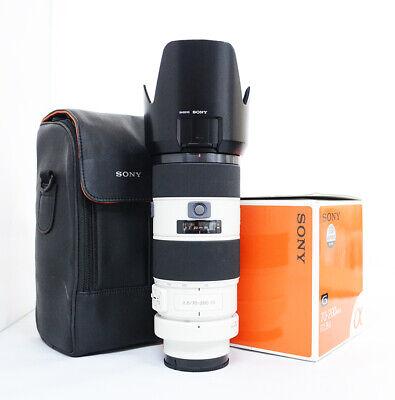 "# Sony SAL 70-200mm f/2.8 AF SSM G Lens ""Mint"" S/N 1859369"