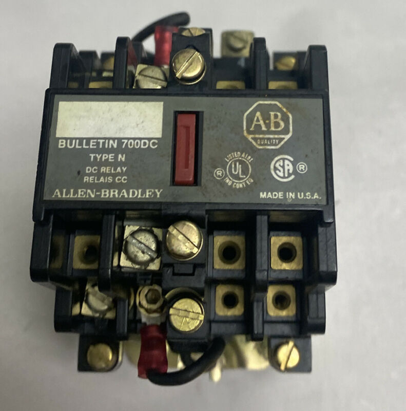 Allen Bradley 700DC-N400Z24 Type N Control Relay Series C New No Box