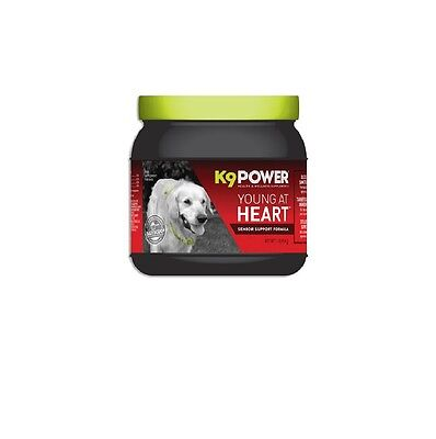 K9 POWER Young at Heart Senior Supplement for Dog - Joints Brain Function 1Lbs