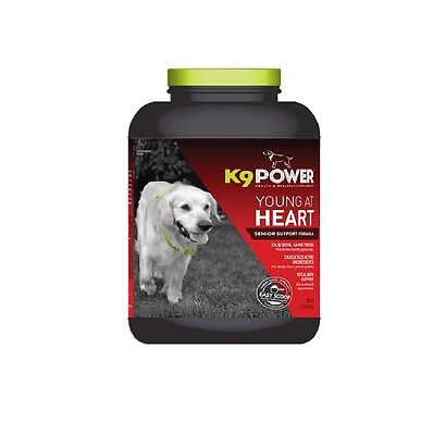 K9 POWER Young at Heart Senior Supplement for Dog - Joints Brain Function 8Lbs