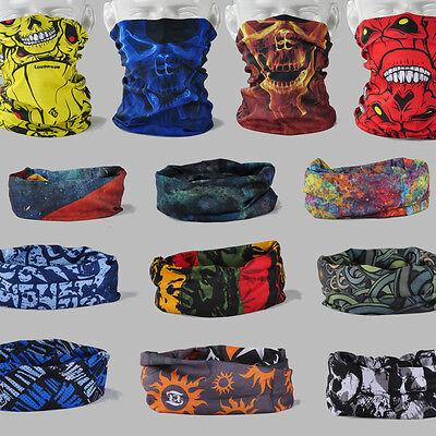 15 PCS-Multi Scarf Hat Neck Bandana Mask Cap Heardwear Tubular Camouflage Camo