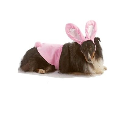HALLOWEEN Costume Bunny for Dogs - Each - XS - XL - 2 pc set - Pink (Dog Halloween Costumes For Toddlers)