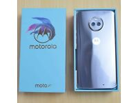 Unlocked 4g motorola moto x4 blue(sterling blue) mobile smartphone Dual camera 12+12 MP 16MP 1080p