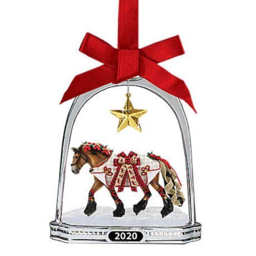 Breyer NEW * Yuletide Greetings Stirrup Ornament * Christmas Holiday Model Horse
