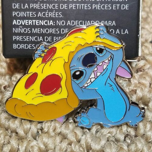 Loungefly Disney STITCH with Pizza Food Blind Box Lunch Exclusive Pin & Box New