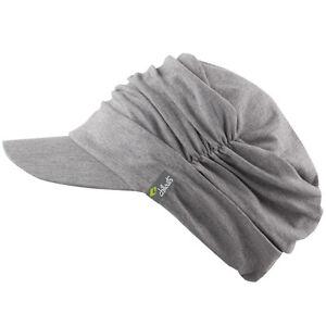 Basecap Chillouts Damen Schirmmütze Schildmütze Mütze Cap Kappe Kubacap Grau NEU