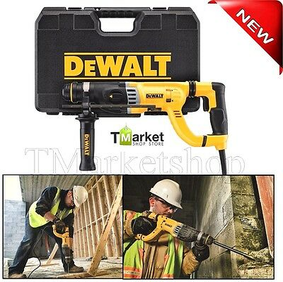 Professional Dewalt 1-18 Sds Rotary Electric Hammer Drill Concretewood Tools