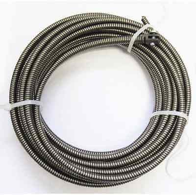 50 Ft Drain Auger Cable Snake Replacement Sink Plumbing Sewer Clog Pipe Cleaner
