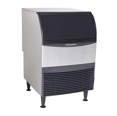 Scotsman Uc2024sa-1 Undercounter 227lb Ice Maker Machine Air Cooled Small Cube
