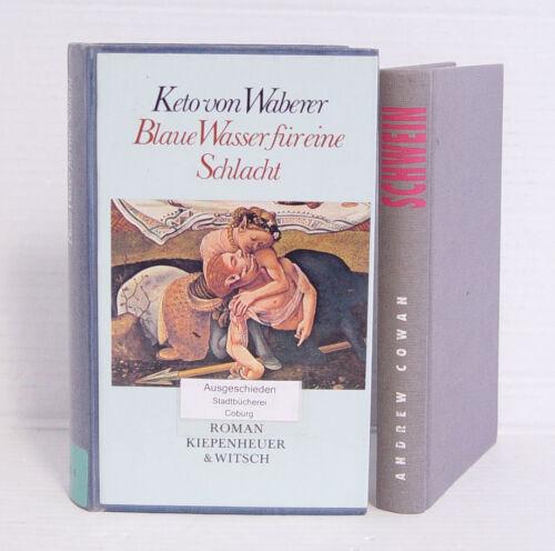 Schwein; Cowan / Blaue Wasser für eine Schlacht 2 Romane