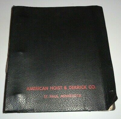 American 7530 Crane Service Shop Repair Maintenance Manual Original