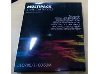 Multipack ink cartridges-IJ-LC980/1100-SLIM