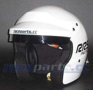 Jethelm mit HANS-Clips, Größe M, FIA 8859-2010 & Snell-SA2015, raceparts.cc
