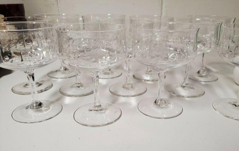 "Set of 4 Lenox AFTERGLOW Champagne glasses 5"" tall Mint"