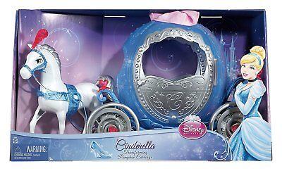Disney Cinderella Transforming Pumpkin Horse Carriage Doll Accessories NEW