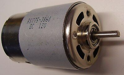 Rs775-386012v Dc Electric Motor 3000rpm