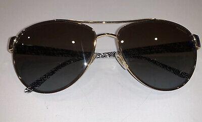 VERSACE Frame Lens Polarized 2145 1002/T5 Aviator Pilot Sunglasses 58 15  135 3P