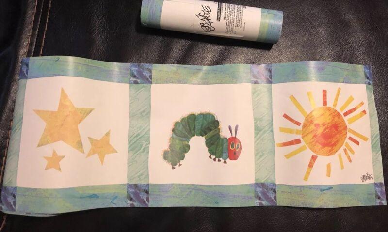 Carter's Eric Carle Hungry Caterpillar Nursery Wall Paper Decorative Border