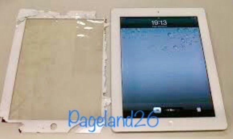 Ipad 2 3 4  Digitizer Glass Screen Replacement Repair Mail In Service