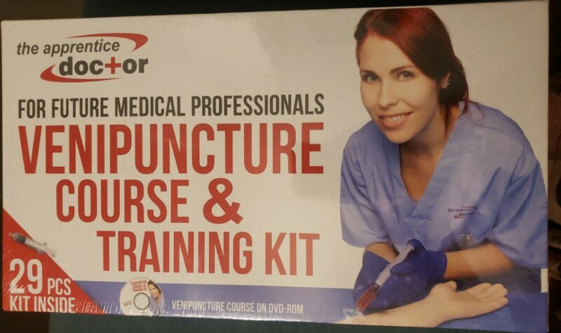 IV Practice Kit with Phlebotomy/Venipuncture How-to Guide... new factory sealed