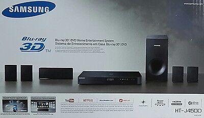 Samsung HT-J4500 3D 5.1 Heimkinosystem 500 Watt Bluetooth (B0576-577)