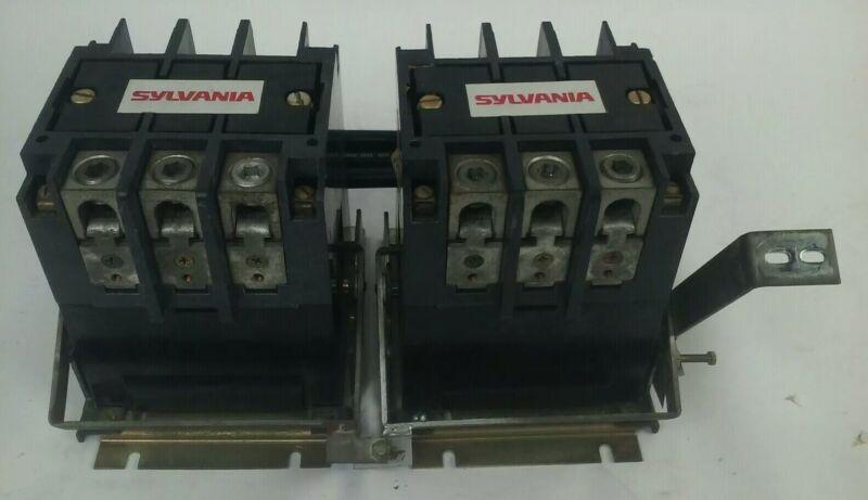 SYLVANIA  A77-302337A-1 FIRE PUMP CONTACTORS 3PH 600V 125HP W/ TB162-3 480V COIL