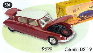 Dinky Toys 530 Citroen DS 19 rot/weiss 1:43 NEU OVP NOREV Atlas