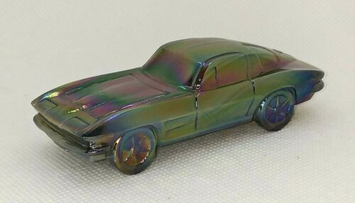 """Boyd Sports Car #3 NUTMEG CARNIVAL Glass - 1963 Chevrolet Corvette Chevy """"Vette"""