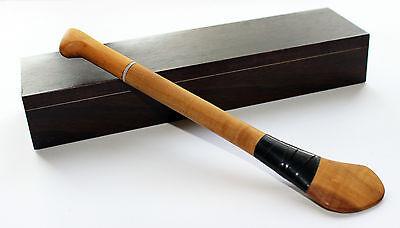 Limited edition wooden Irish hurley stick pen boxed - hurling GAA Gaelic games