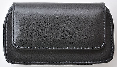 LEATHER CASE HOLSTER POUCH FOR OTTERBOX APPLE IPHONE 4 4S DEFENDER on Rummage