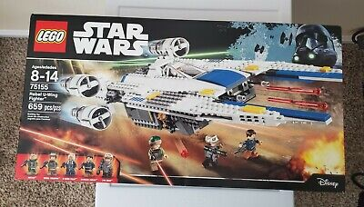 LEGO Star Wars Rebel U-Wing Fighter (75155) 659 pieces inRogue One w/ Trooper