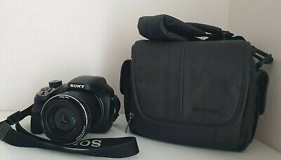 Sony Cybershot DSC-H400 20.1MP Camera 63X Optical Zoom with cam.bag, charger