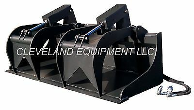 72 Grapple Bucket Skid Steer Loader Tractor Attachment John Deere New Holland