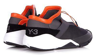 Y-3  Men's Future Toggle-Tie Low-Top Sneaker US 9.5 NEW