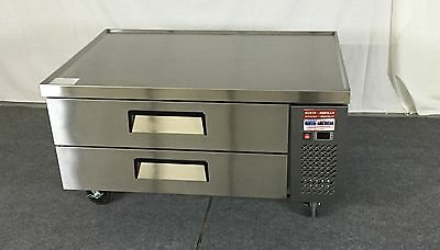 Chef Base 48 Refrigerated Grill Stand 2 Equipment Table 4 Refrigerator Drawer