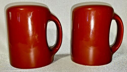 Vintage Fitz and Floyd Salt & Pepper Oven Stove Range Set Reddish Brown w/Tags