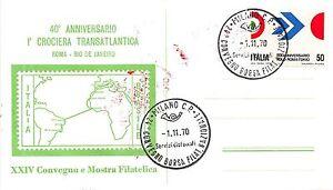 FDC - Italia - Repubblica - 1970 - Volo Roma Tokyo - NVG - annullo Borsa Filat. - Italia - L'oggetto può essere restituito - Italia