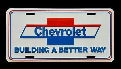 Chevrolet Dealership Booster License Plate