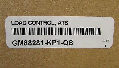 Kohler Gm88281 Kp1 Qs Ats Load Control Automatic Transfer Switch Rxt Rdt